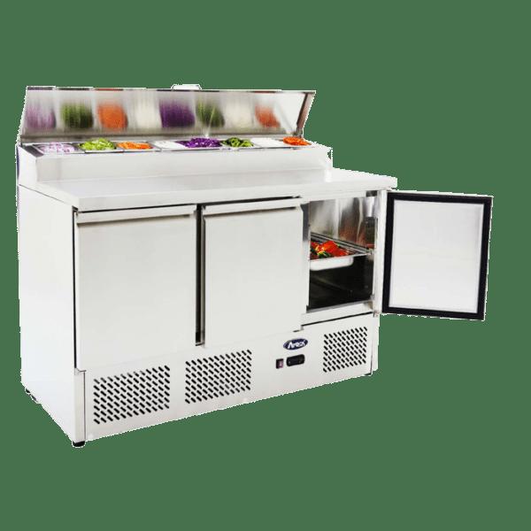 Prepbench fridge Atosa