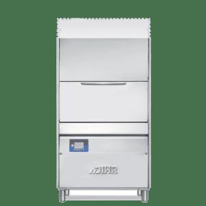 Steam condenser heat recovery dishwasher