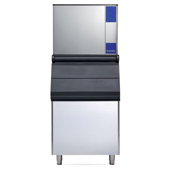 Icematic Full Dice Ice Machine 300kg D Kitchen Setup