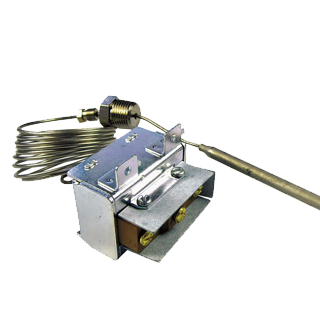 commercial fry thermostat