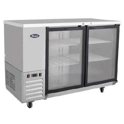 Atosa glass door bar fridge MBB 48G