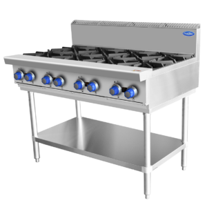 Stainless commercial Stove