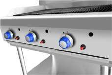 Commercial CharGrill Dials