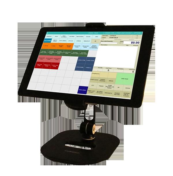 POS touchscreen register
